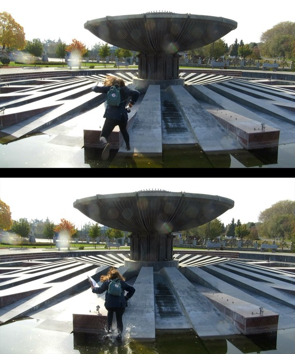 salto a la fuente